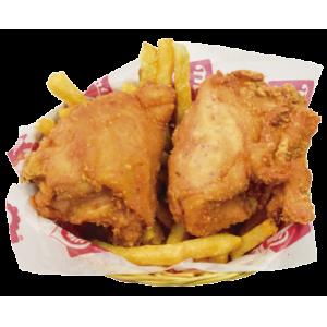 1/4 Pollo Especial